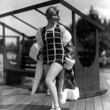 Gilda Grey modeling a swimsuit Miami Florida 1925