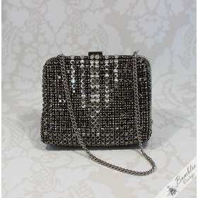 Rare Gorgeous Vintage Bohemian Rhinestone Purse from Czechoslovakia
